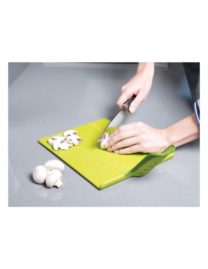 Chop2Pot Plus Folding Chopping Board - White image 2