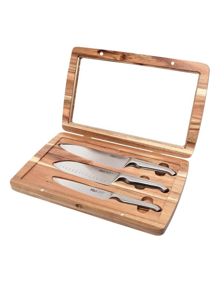 Furi Pro 3pc prep knife set image 2
