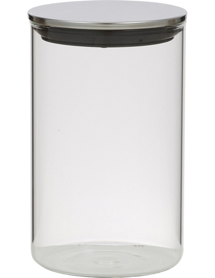 Essentials Glass Canister with Stainless Steel Lid  1.1L image 1