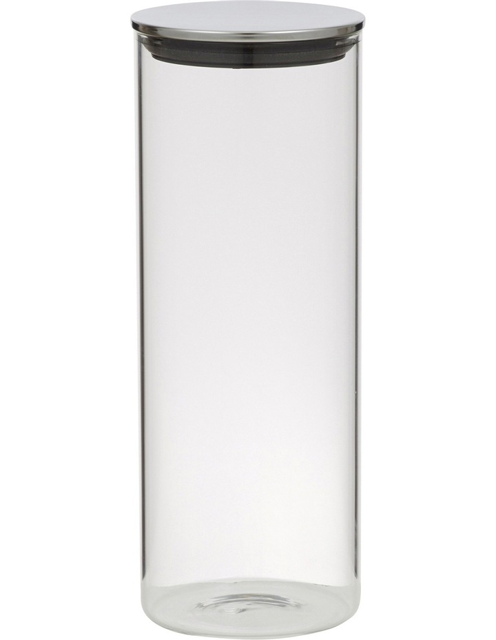 Essentials Glass Canister with Stainless Steel Lid  1.8L image 1
