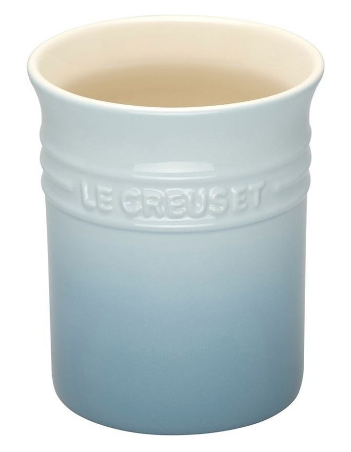 Utensil Jar Coastal Blue image 1
