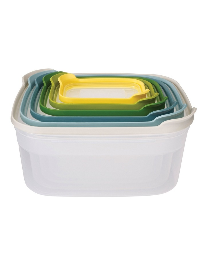 Nest Storage 6pc Food Container Set - Opal image 1