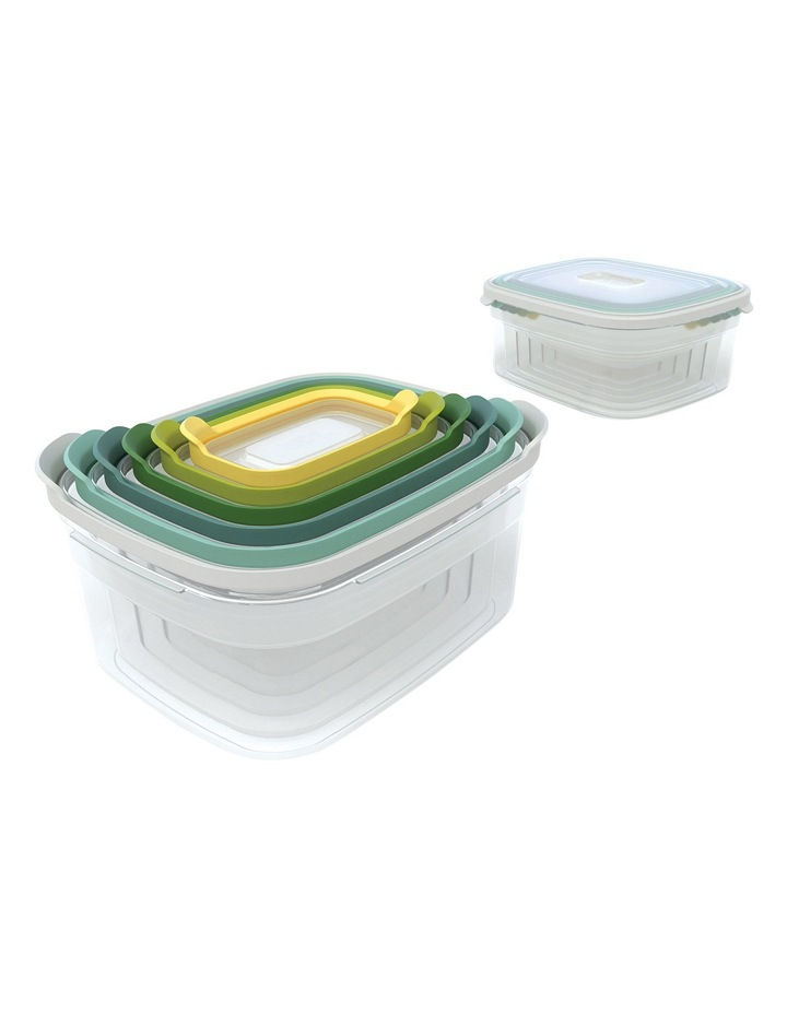 Nest Storage 6pc Food Container Set - Opal image 2