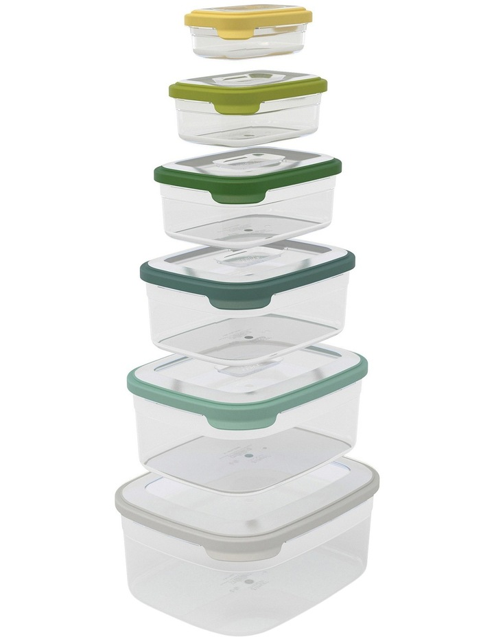 Nest Storage 6pc Food Container Set - Opal image 3