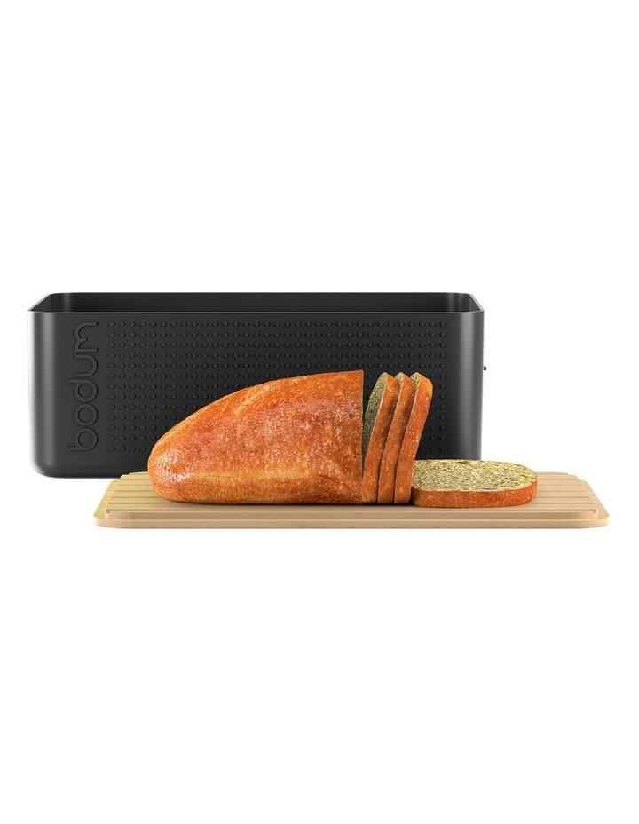 Bistro Bread Box - Black image 2