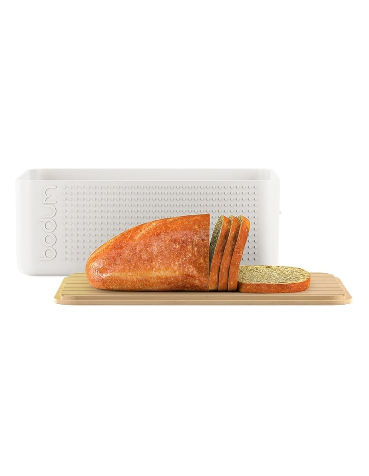 Bistro Bread Box - White image 2