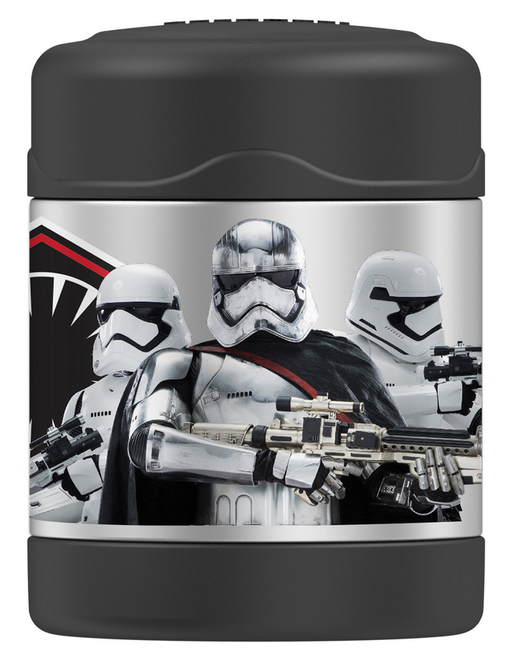 Thermos Funtainer Star Wars Vacuum Insulated 290ml Food Jar - Stormtrooper image 1