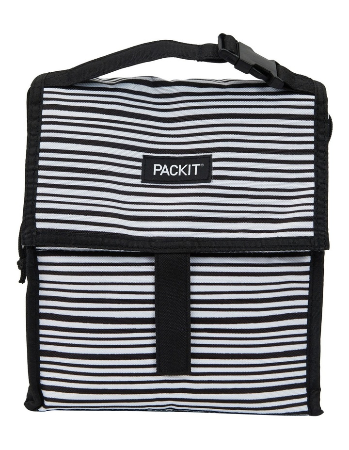 Lunchbag - Wobbly Stripes image 1