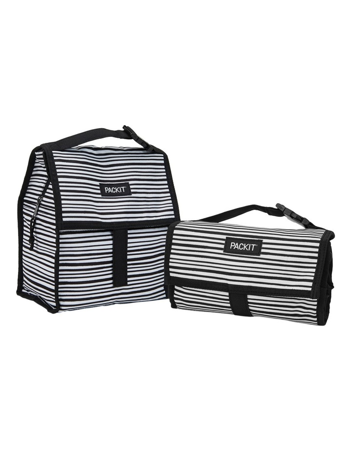 Lunchbag - Wobbly Stripes image 4