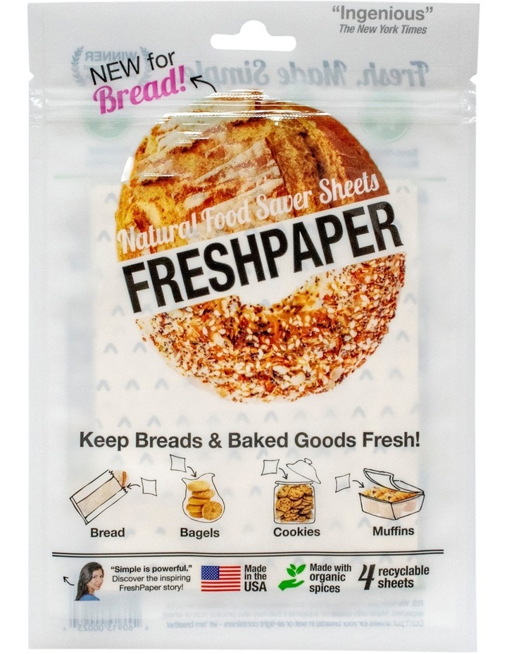 4 Sheet Pack for Baked Goods image 1