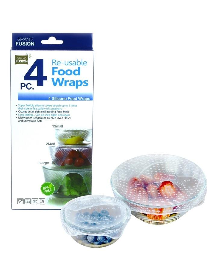 Grand Fusion Silicone Food Wraps Set 4