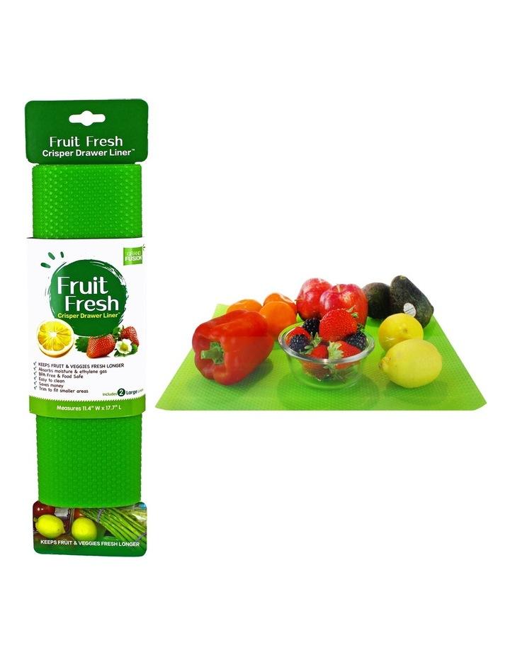Fruit Fresh Cripser Drawer Liner - Set 2 image 1