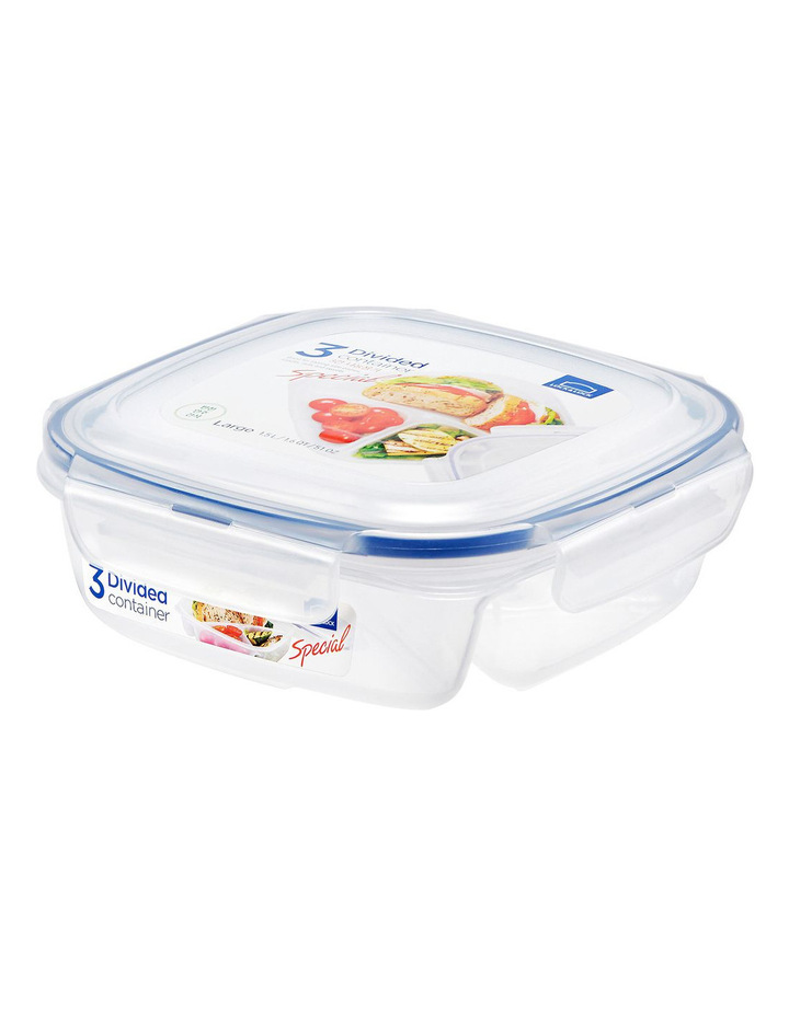 3 section Lunch container 750ml image 1