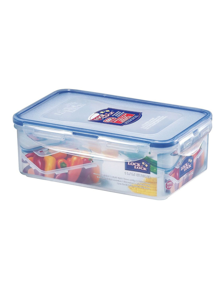 Lock & Lock Rectangle Tall Container - 1.0L image 1