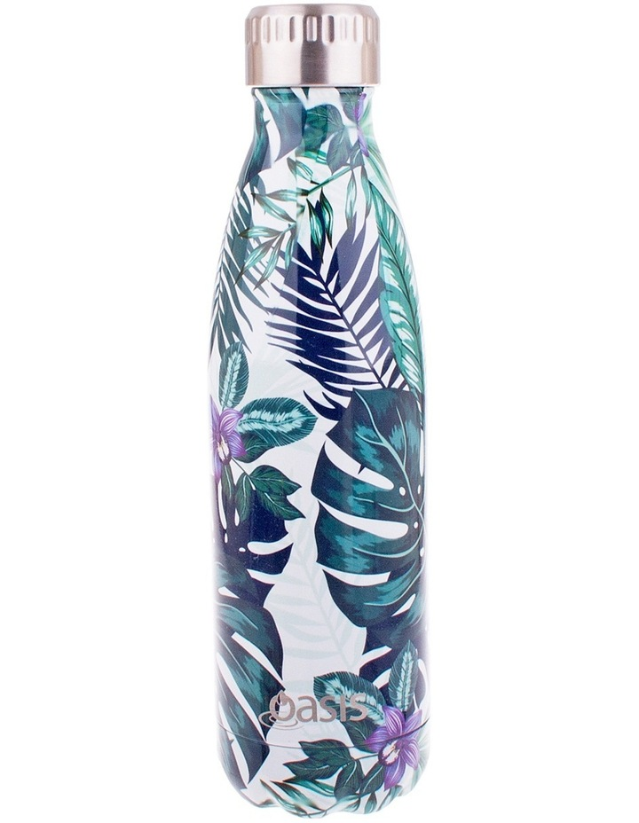 Stainless Steel Insulated 500ml drink bottle - Tropical image 1