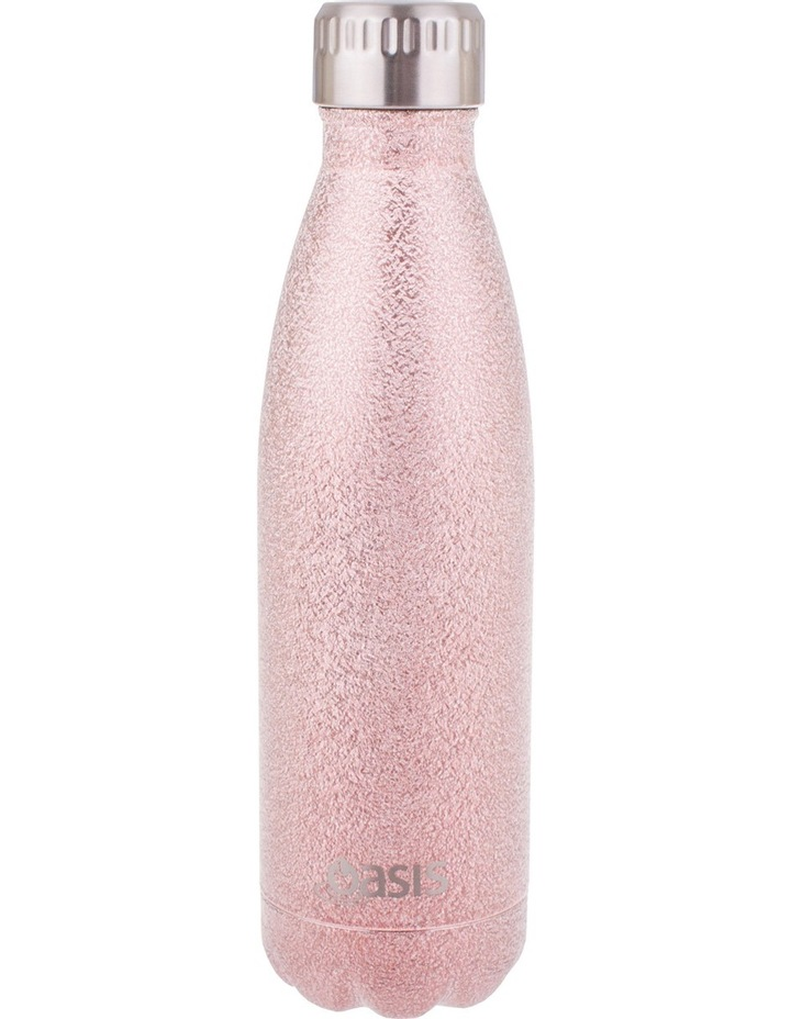 Oasis Stainless Steel Insulated 500ml drink bottle - Shimmer image 2
