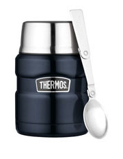 Thermos - Stainless Steel Vacuum Insulated Food Jar with Spoon  470ml