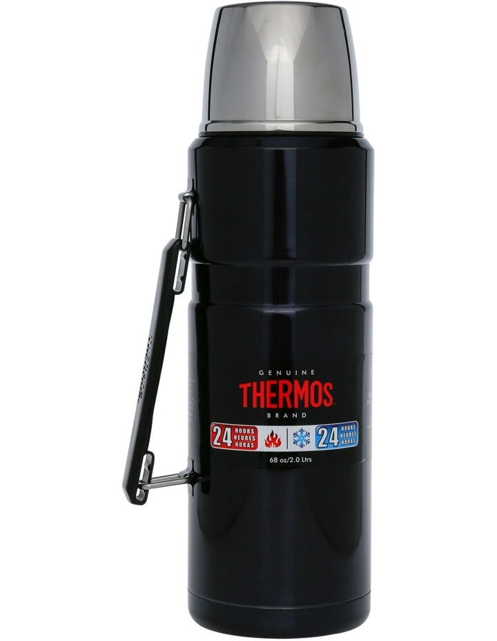 Vacuum Insulated Stainless Steel Flask  2L image 1