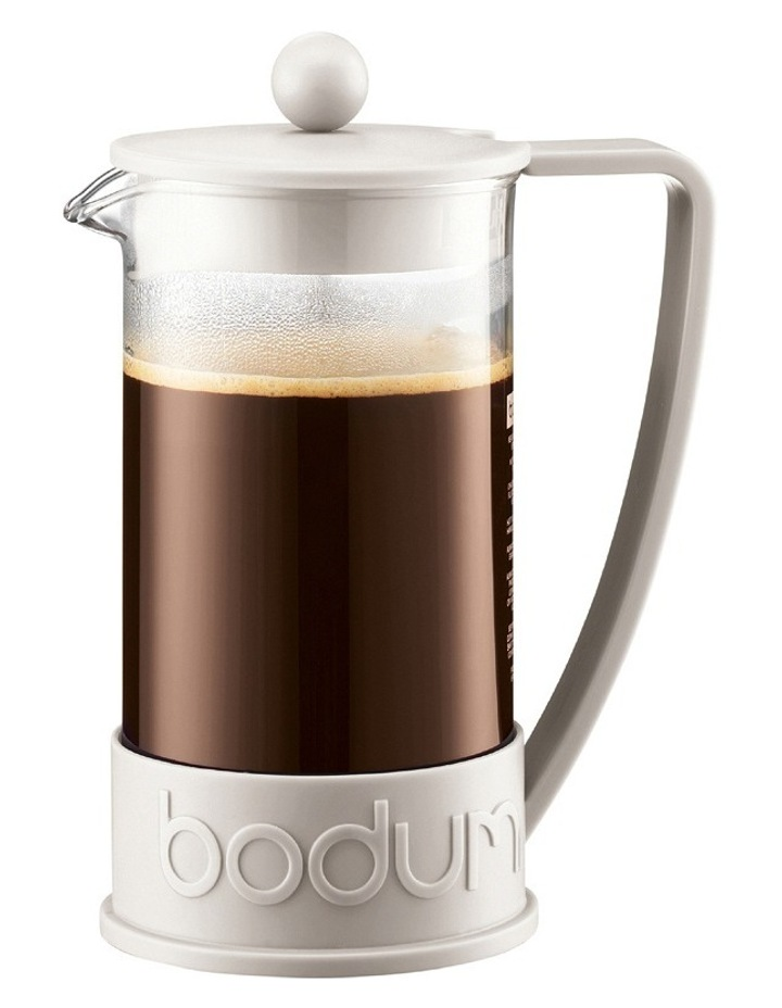 Brazil Coffee Maker  8 Cup - White image 1