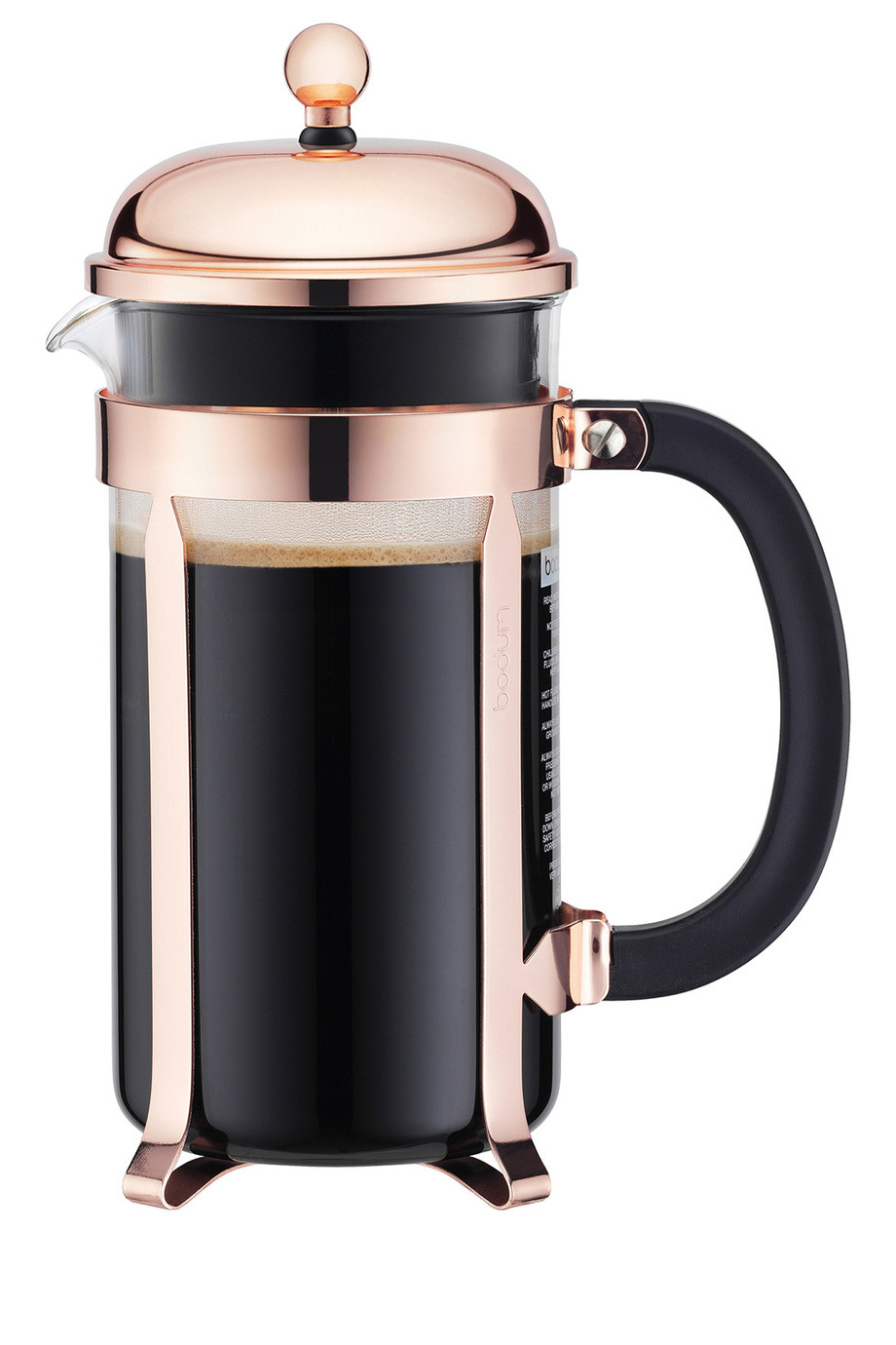 Bodum Chambord Coffee Maker 3 Cup Copper Myer Online