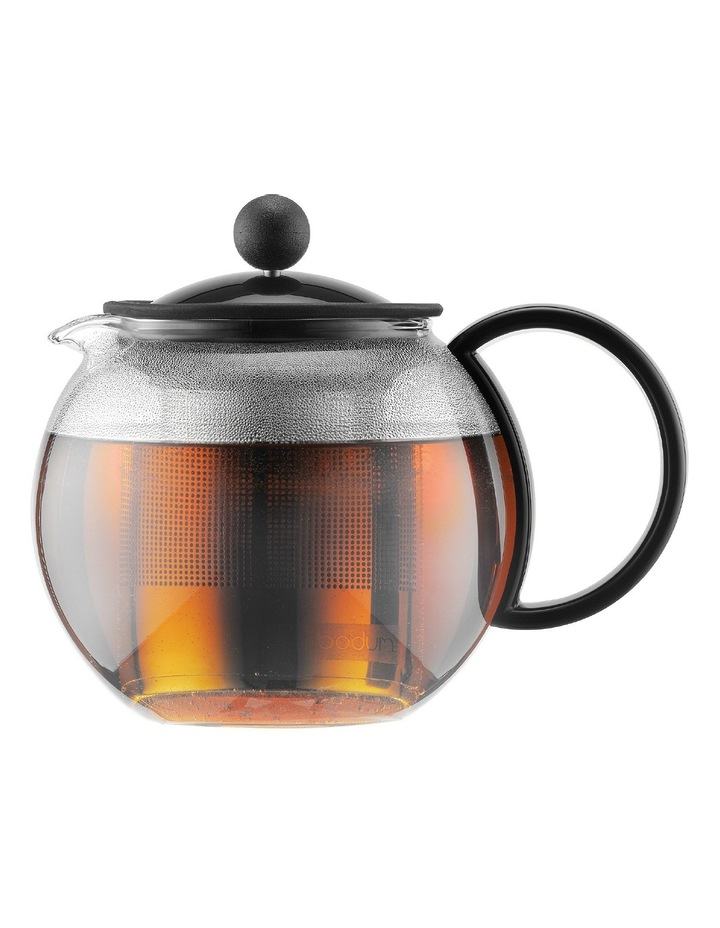 Assam Tea Press with Stainless Steel Filter  1L image 1