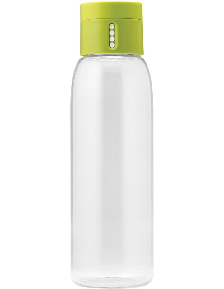 Dot Titan 600ml Drink Bottle with Hydration Counting Lid - Green image 1