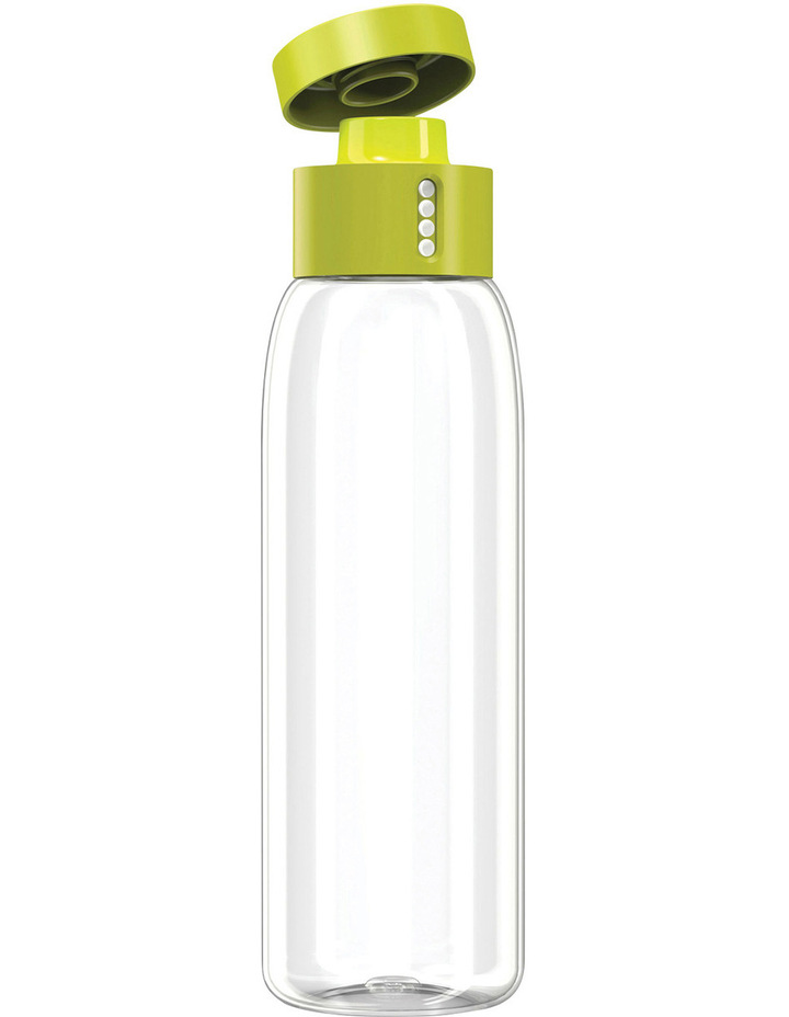 Dot Titan 600ml Drink Bottle with Hydration Counting Lid - Green image 3