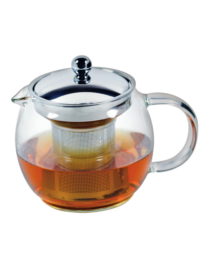 Ceylon Borosillicate Glass Teapot with Stainless Steel Infuser  750ml image 1