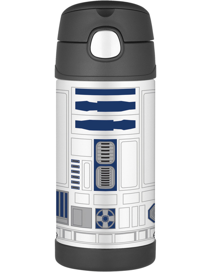 Thermos Funtainer Star Wars Vacuum Insulated 355ml Drink Bottle - R2D2 image 1