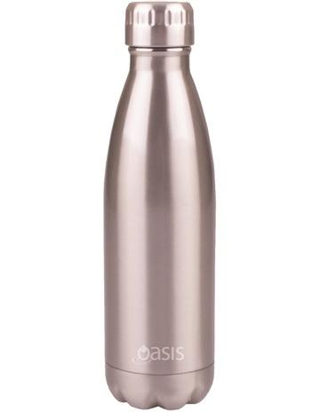 d1269e3fd5 OasisStainless Steel Insulated Drink Bottle 500ml - Silver. Oasis Stainless  Steel Insulated Drink Bottle 500ml - Silver