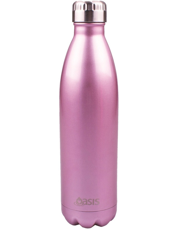 Stainless Steel Insulated Drink Bottle  500ml - Blush image 1