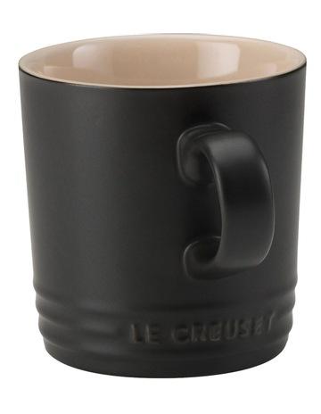 Le Creuset Le Creuset Mug 200ml Satin Black ba5226ca3c32