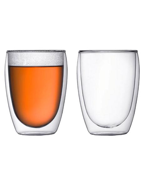 Pavina Double Walled Glass - Set of 2 - 350ml image 1