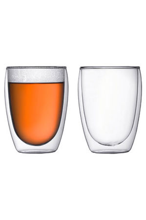 Bodum - Pavina Double Walled Glass - Set of 2 - 350ml