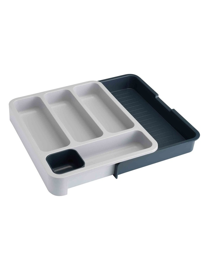 DrawerStore Expandable Cutlery Tray - Grey image 1