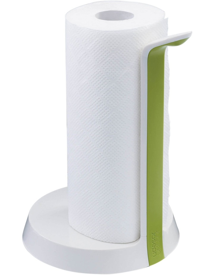 Easy Tear Kitchen Roll Holder - White/Green image 7