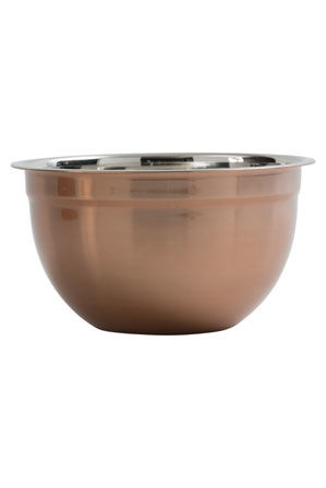 Australian House & Garden - Mixing Bowl Med - Copper Finish