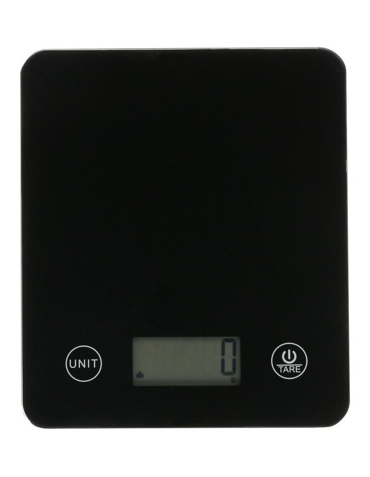 Rectangular Scale  5kg/1g - Black image 1
