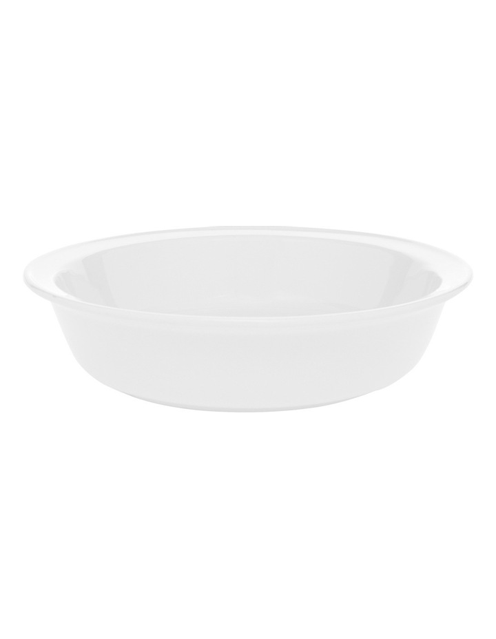Heritage Provincial Stoneware 25cmx5.2cm Pie Dish With Embossing image 1