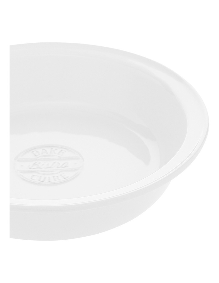 Heritage Provincial Stoneware 25cmx5.2cm Pie Dish With Embossing image 2
