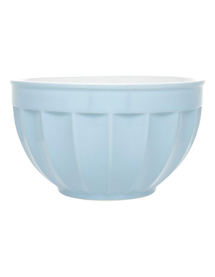 Ribbed Large Mixing Bowl - Blue image 1