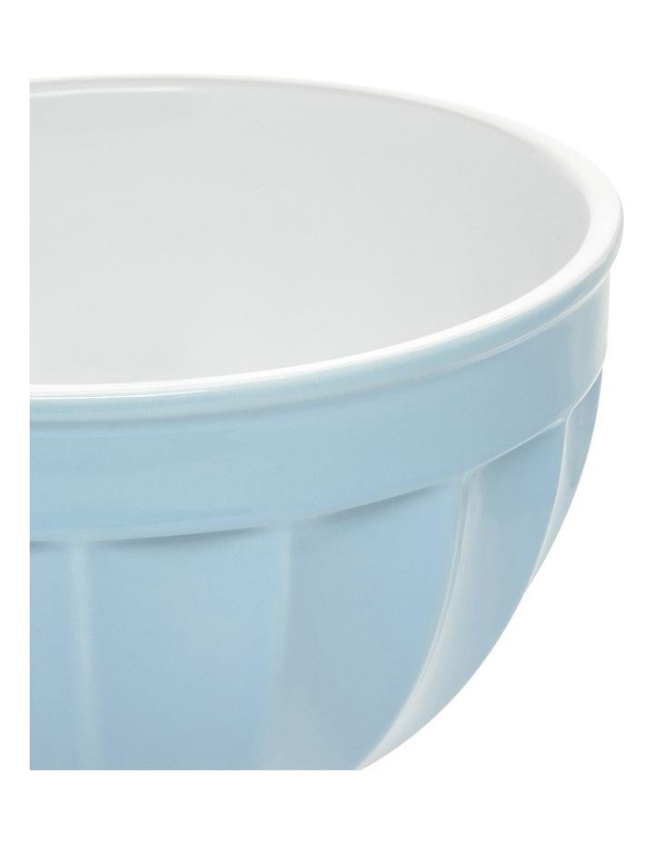Ribbed Large Mixing Bowl - Blue image 2
