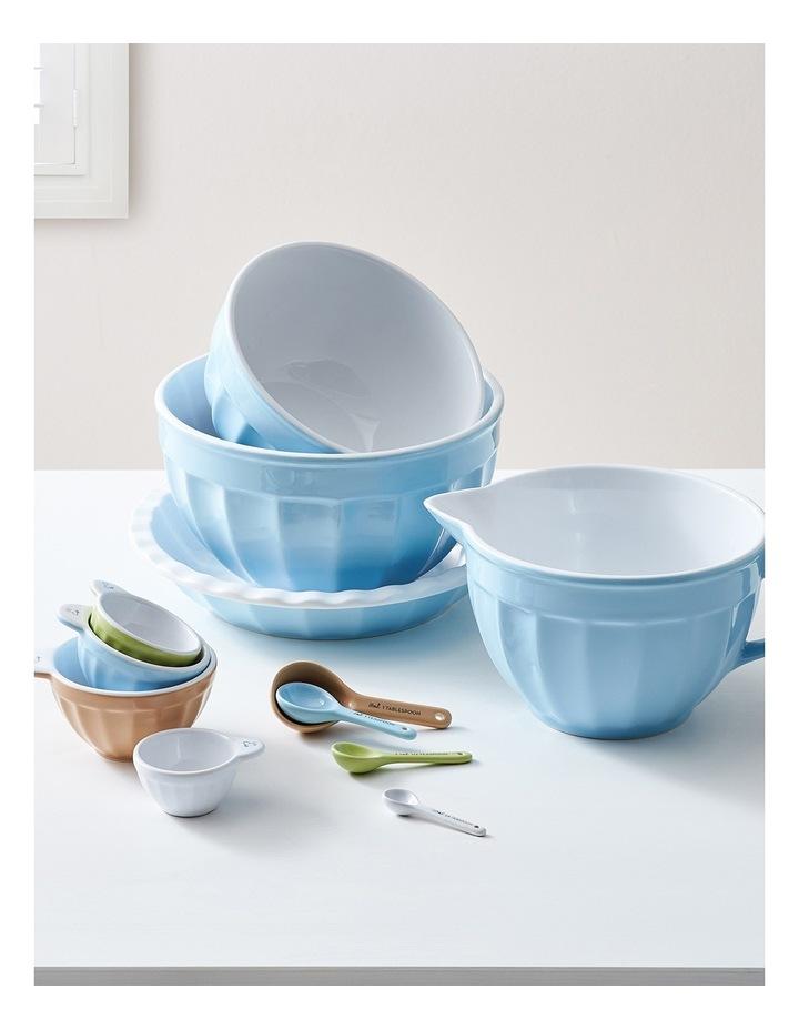 Ribbed Large Mixing Bowl - Blue image 4
