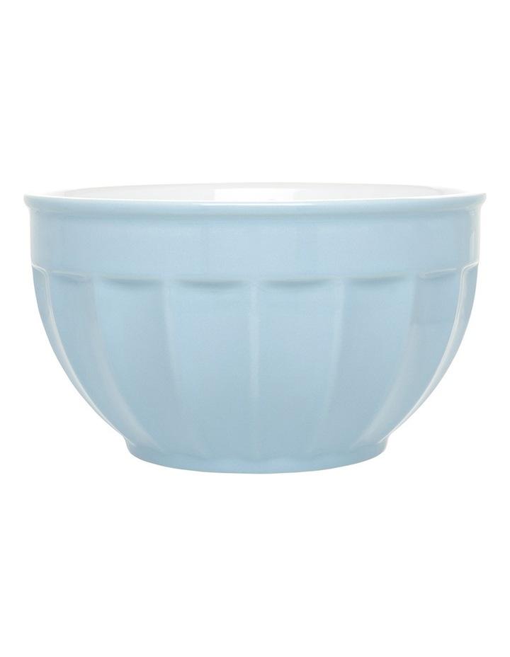 Heritage Ribbed Medium Mixing Bowl - Blue image 1