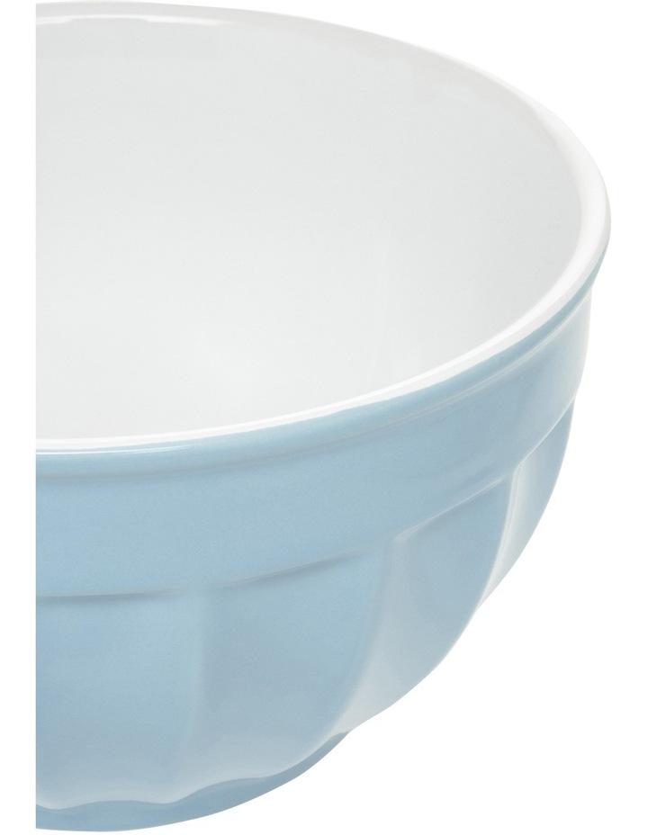 Heritage Ribbed Medium Mixing Bowl - Blue image 2