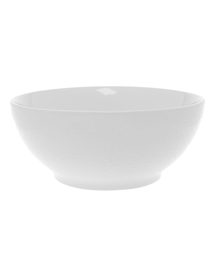 White Dots Embossed 24cm Mixing Bowl image 1