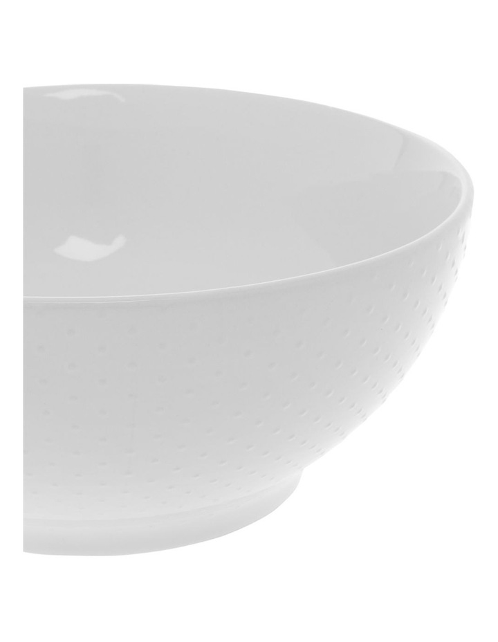 White Dots Embossed 24cm Mixing Bowl image 2