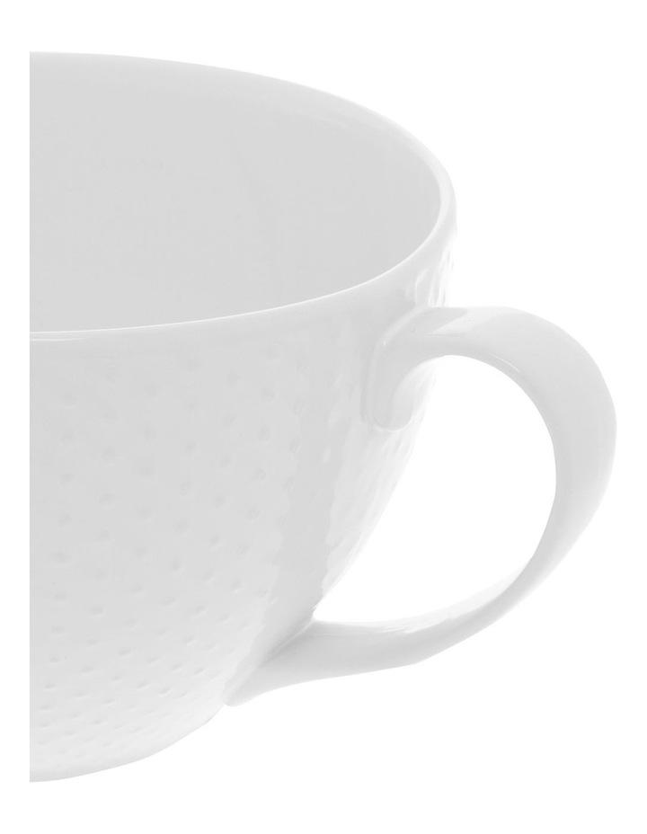 Dots Embossed 27cm Mixing Jug - White image 2
