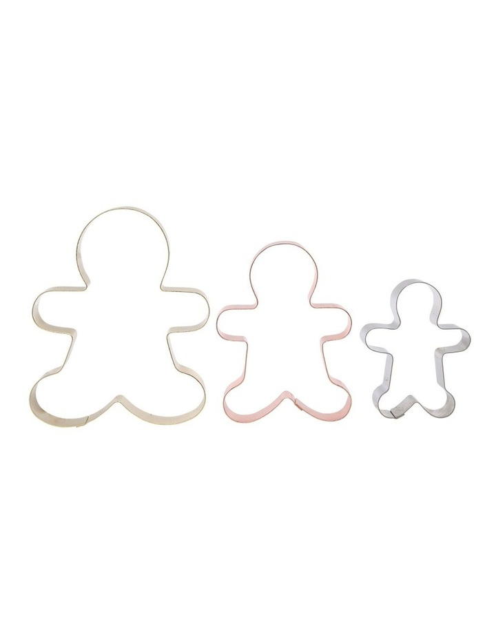 Christmas Cookie Cutter Gingerbread Man Set of 3 image 3