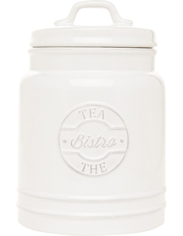 a09a101ebba HeritageHeritage provincial ceramic tea canister with embossing. Heritage  Heritage provincial ceramic tea canister with embossing
